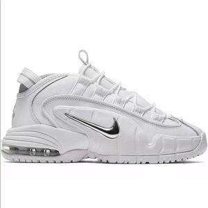 Nike Air Max Penny LE GS 315519-100 White Silver